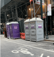 Porta potties and mobile restrooms in Manhattan, NY
