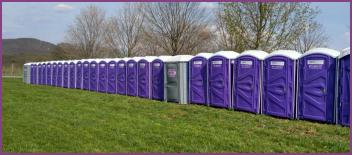 Portable bathroom rental in Rockland County
