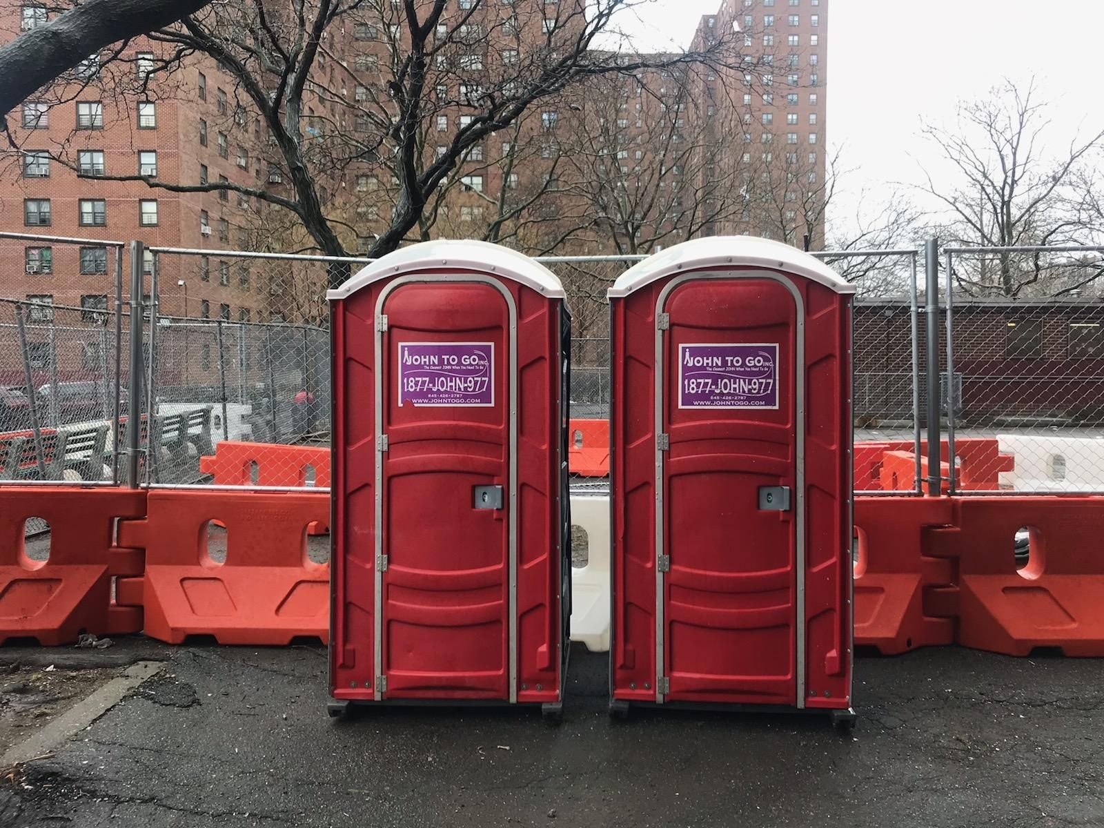portable toilet rental in Hudson County