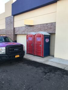 Portable toilet rental in Morris County, New Jersey