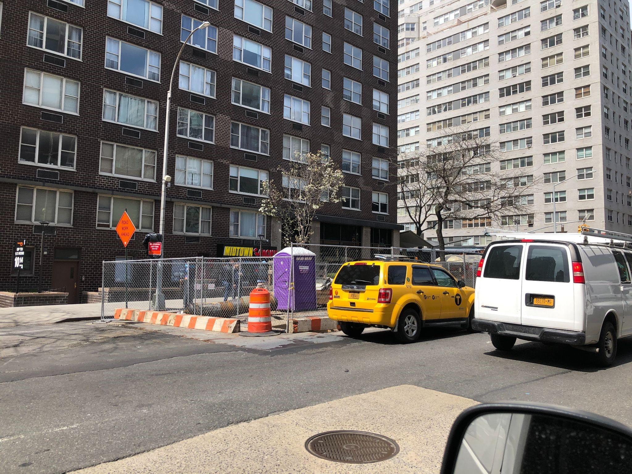 Construction unit in Brooklyn, NY