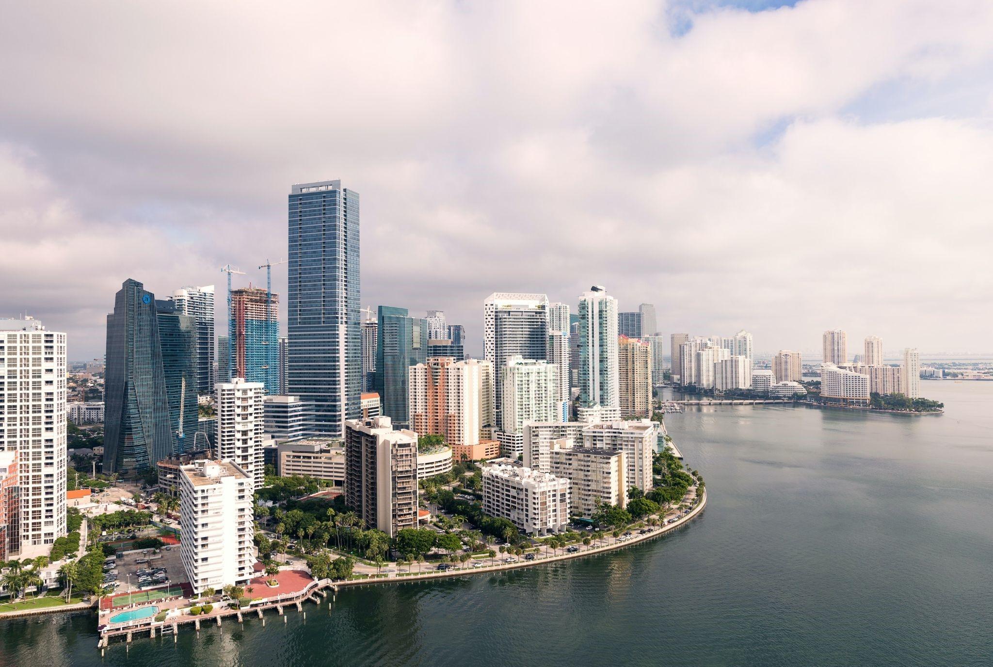 Miami Dade shoreline